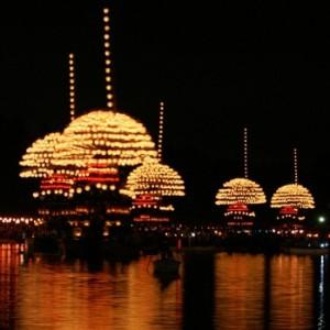 尾張津島天王祭(宵祭)
